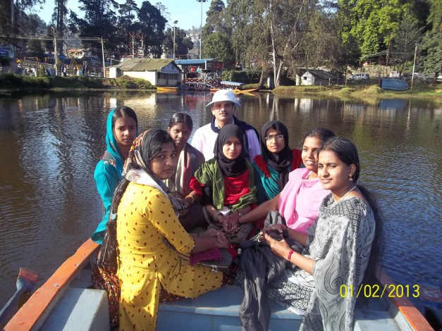 Trainees on Excursion at Kodaikanal on January 2013